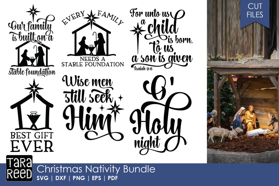 Download Christmas Nativity - Christmas SVG files for Crafters ...