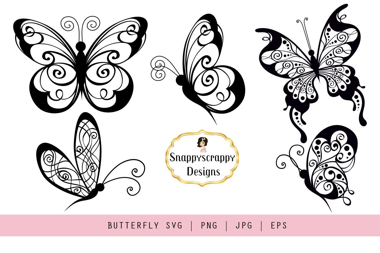 butterflies svg