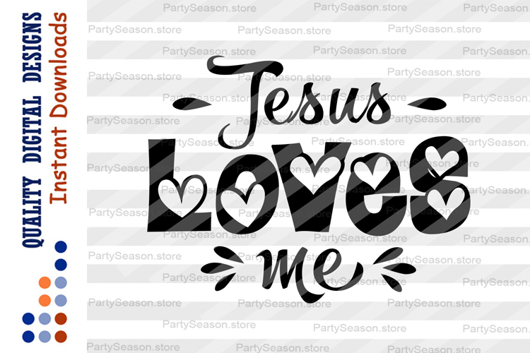 Download Bible verse svg Jesus loves me svg Bible quote svg Easter