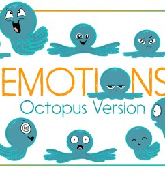 octopus emotions nautical emotion octopus clipart octopus example image 1 [ 1160 x 772 Pixel ]