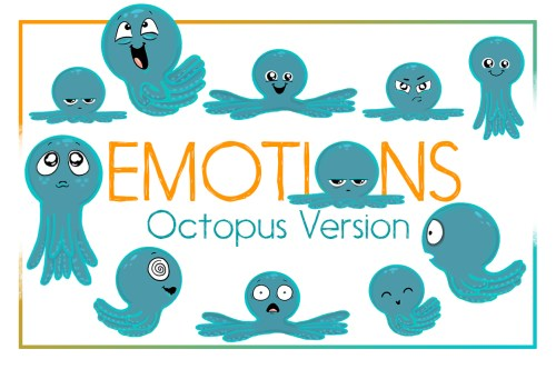 small resolution of octopus emotions nautical emotion octopus clipart octopus example image 1