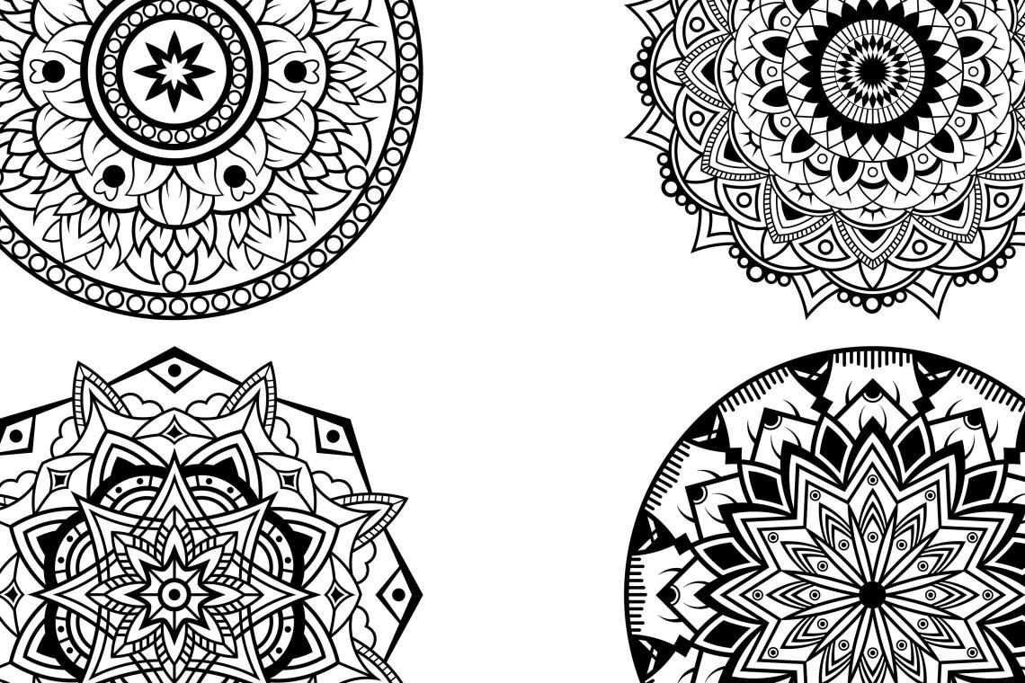 Mandala svg files (181397)   Cut Files   Design Bundles