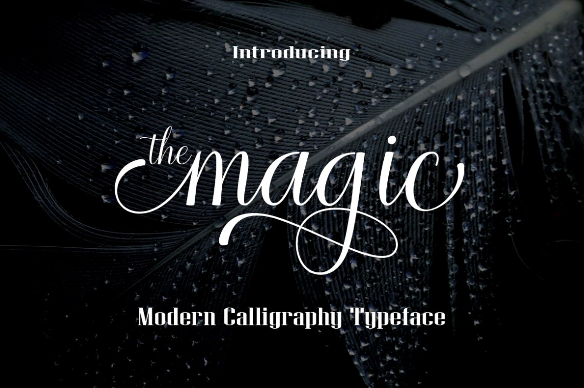 Download The magic (81466) | Script | Font Bundles
