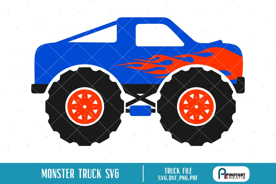 Download Monster Truck svg - a truck vector file (193243) | SVGs ...