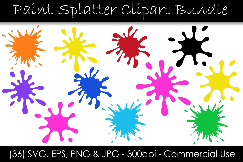 Paint Splatter Svg Bundle