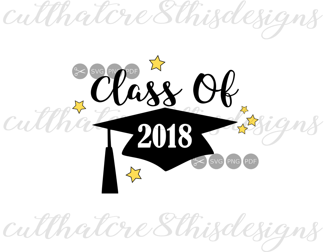 Class Of 2018, Grad, Cap, Graduation, Stars, Quotes