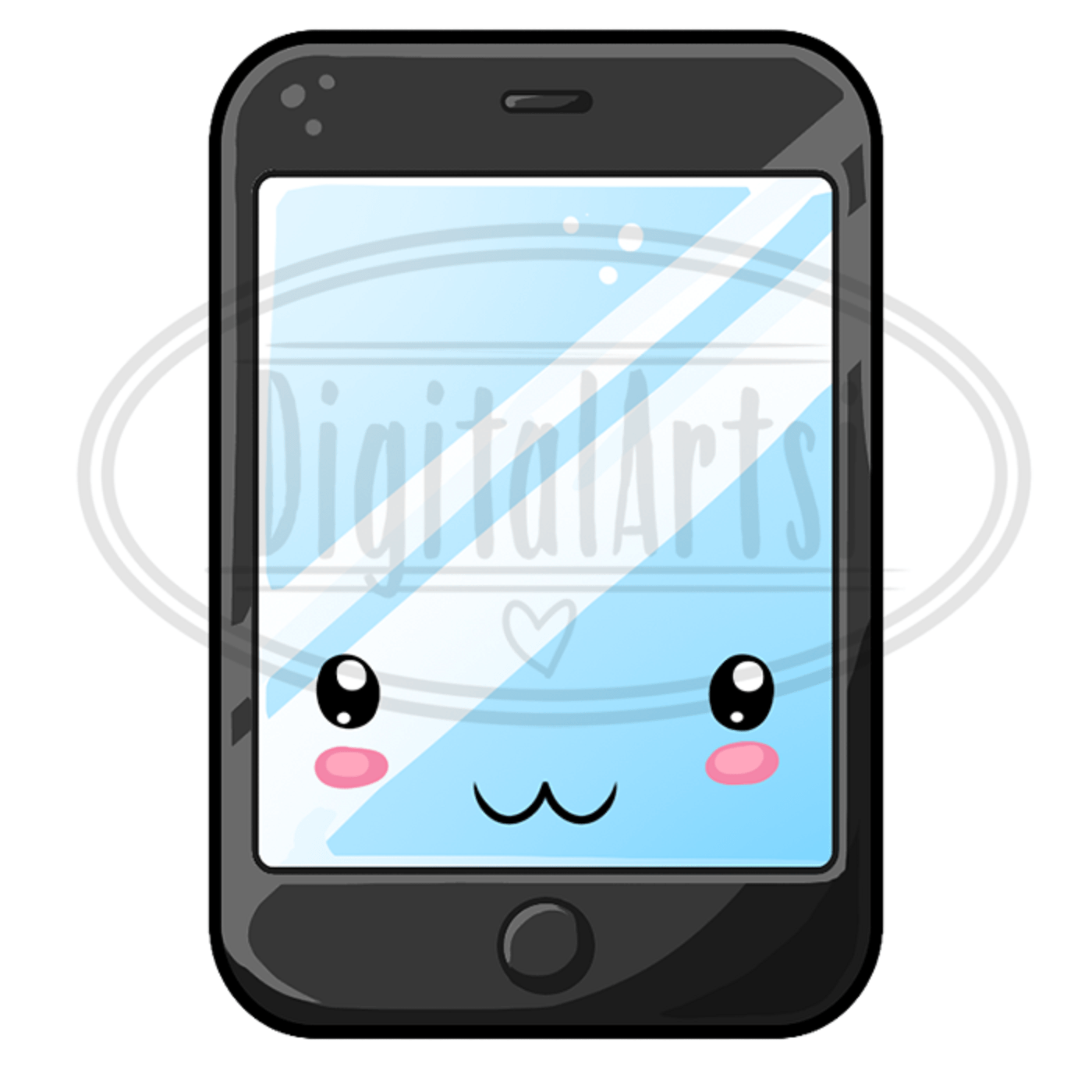 hight resolution of kawaii cell phone clipart example image 3