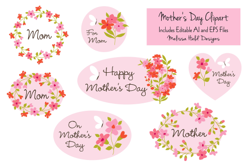 small resolution of mother s day clipart example image 1
