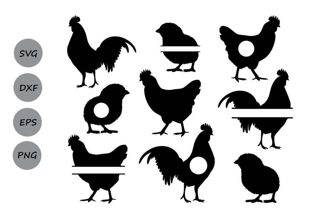 Download Chicken SVG, Chicken Monogram Svg, Rooster Svg, Hen Svg ...