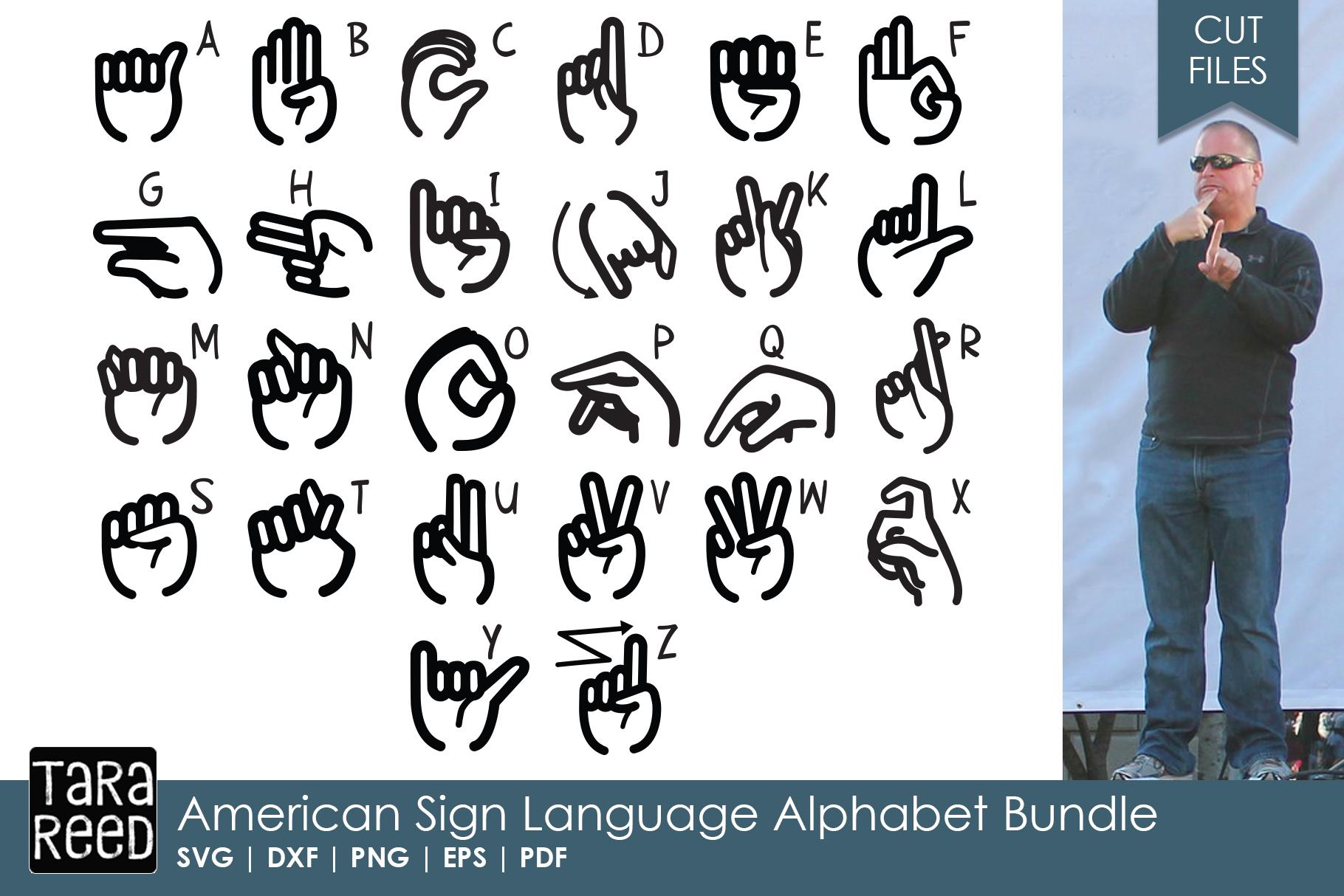 American Sign Language Alphabet Bundle