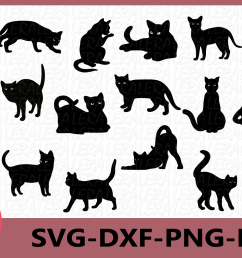 cat svg cat black svg cat clipart animals silhouettes example image 1 [ 1559 x 1039 Pixel ]