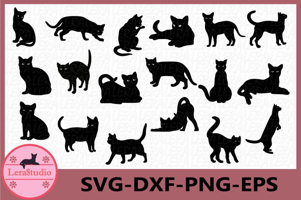 medium resolution of cat svg cat black svg cat clipart animals silhouettes example image 1