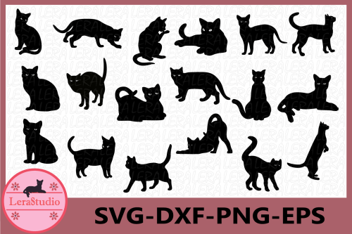 small resolution of cat svg cat black svg cat clipart animals silhouettes example image 1