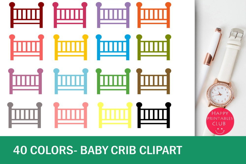 medium resolution of 40 baby crib clipart colorful baby crib transparent images example image 1