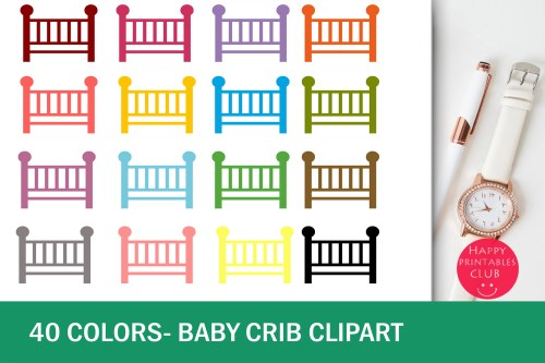 small resolution of 40 baby crib clipart colorful baby crib transparent images example image 1