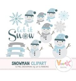 cute snowmen snowman clipart christmas winter clipart let it snow winter graphics [ 1500 x 1500 Pixel ]