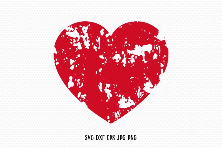 Download Distressed heart svg, Valentine SVG, Valentines Day SVG