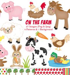 farm clipart farm animals graphics illustrations c11 example image 1 [ 1501 x 1001 Pixel ]
