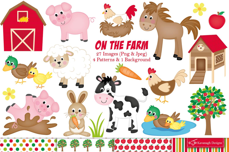 hight resolution of farm clipart farm animals graphics illustrations c11 example image 1