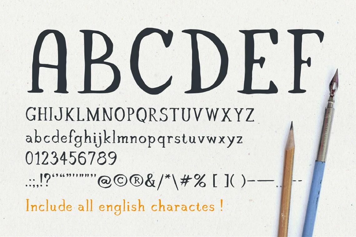 Download Claire - Serif font & illustrations (315) | Script | Font ...