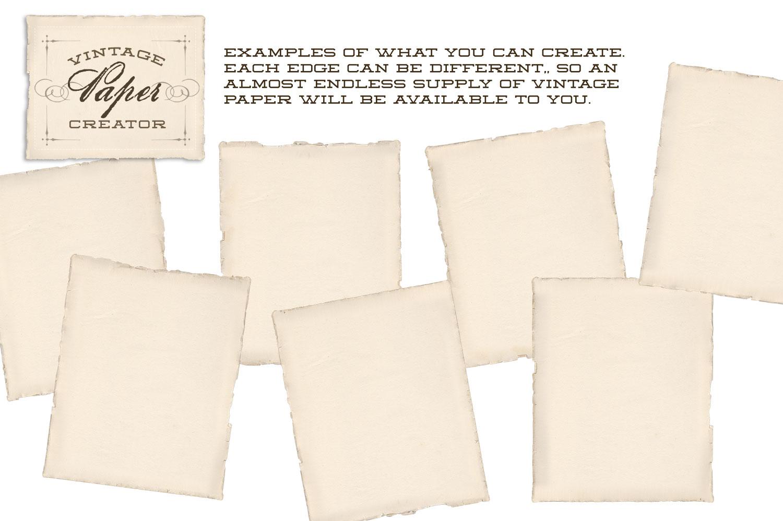 Vintage Paper Creator