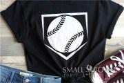 baseball softball diamond ball