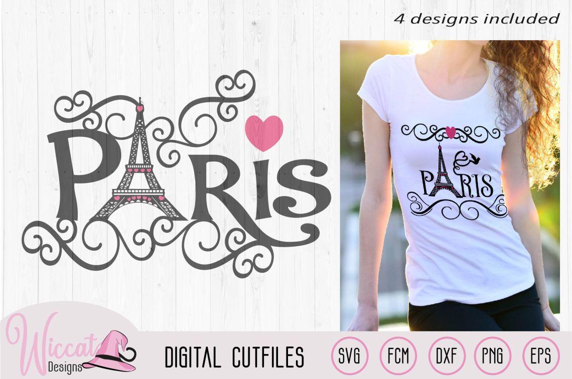 Download Paris Eiffel Tower word art, Valentine, City of love svg ...
