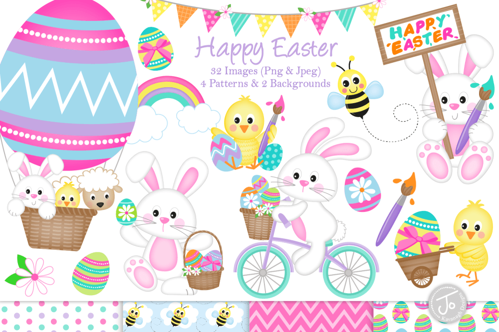 medium resolution of easter bunny clipart easter graphics illustrations c33 example image 1