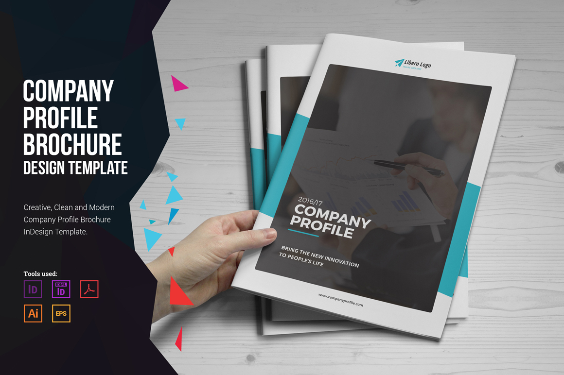 Company Profile Brochure Design V1