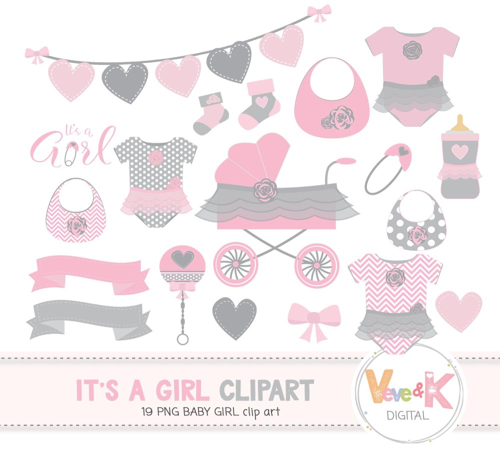 medium resolution of baby shower clip art baby girl clipart baby girl baby shower diy it s