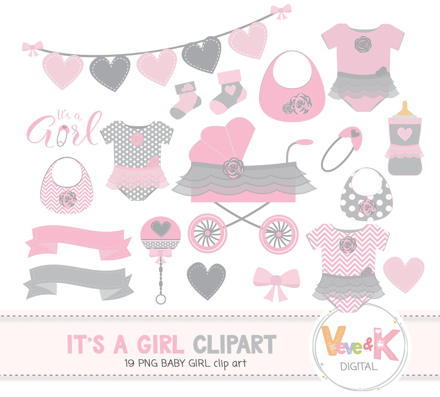 hight resolution of baby shower clip art baby girl clipart baby girl baby shower diy it s