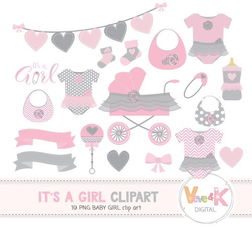 small resolution of baby shower clip art baby girl clipart baby girl baby shower diy it s