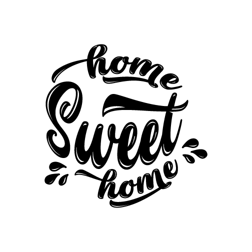 Home sweet home Svg,Dxf,Png,Jpg,Eps vector file