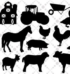 farm svg farm animals farm clipart example image 1 [ 1162 x 775 Pixel ]