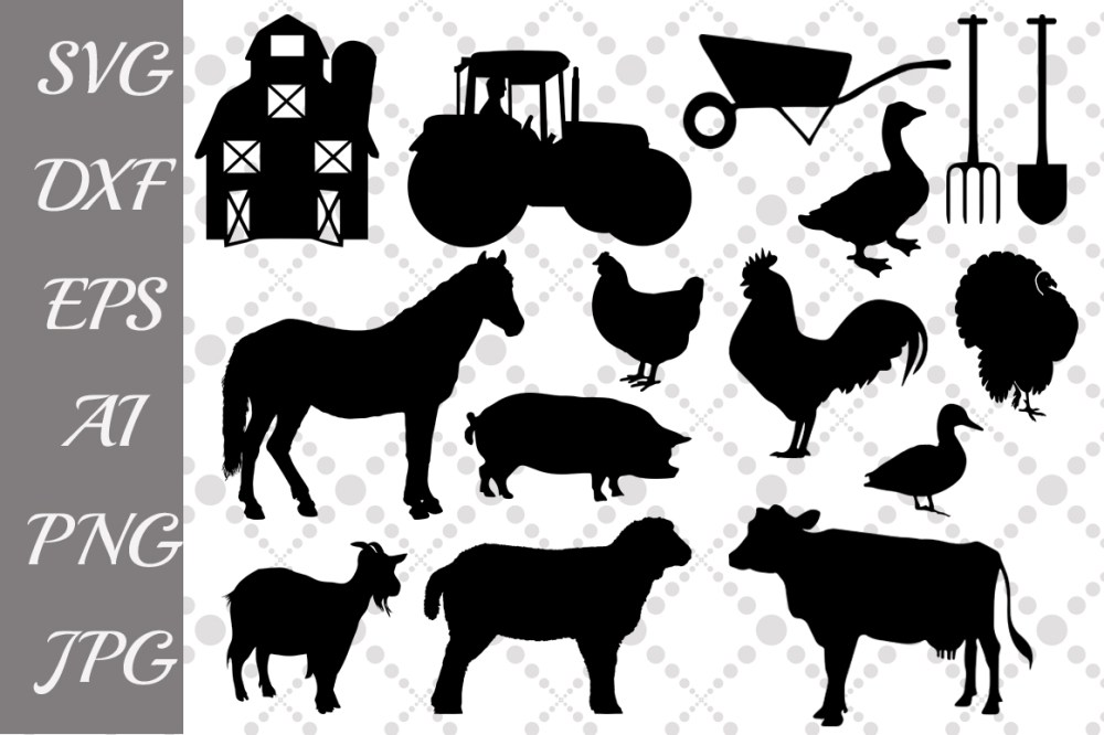 medium resolution of farm svg farm animals farm clipart example image 1