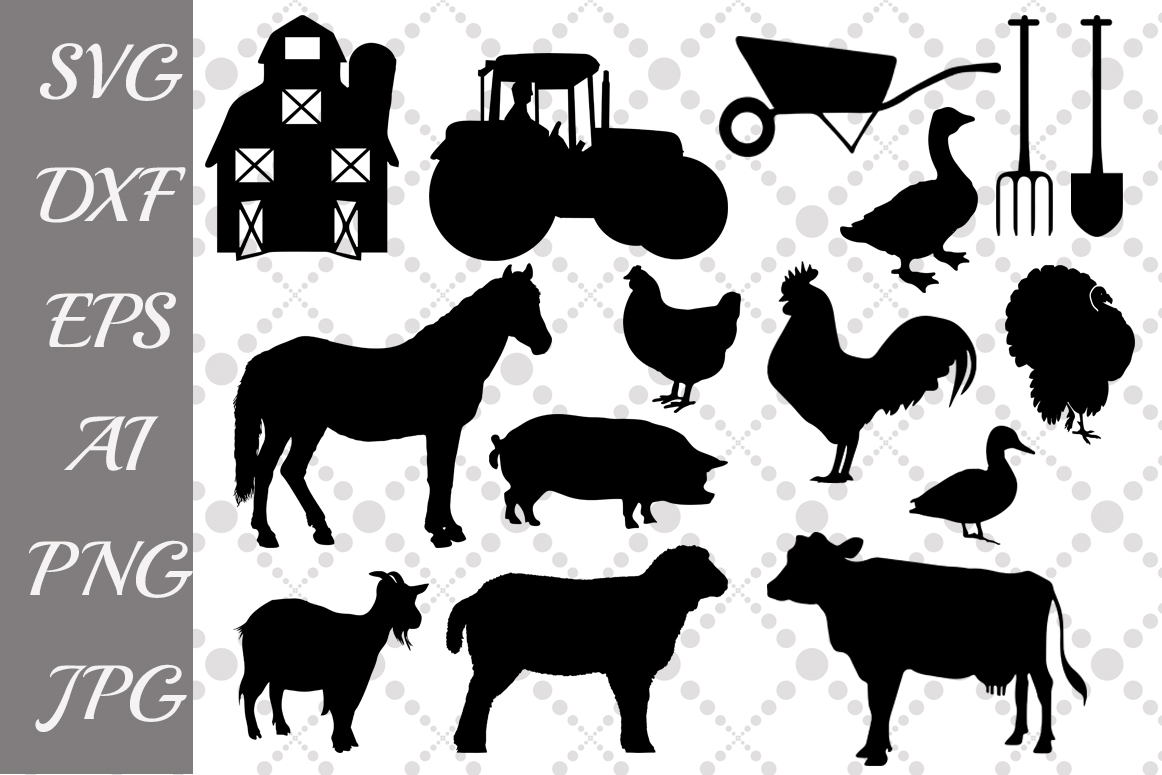 hight resolution of farm svg farm animals farm clipart example image 1