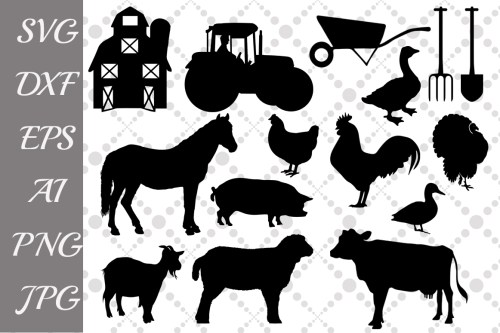 small resolution of farm svg farm animals farm clipart example image 1