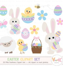 easter bunny clipart easter clipart easter graphics spring flowers easter eggs basket [ 1500 x 1352 Pixel ]