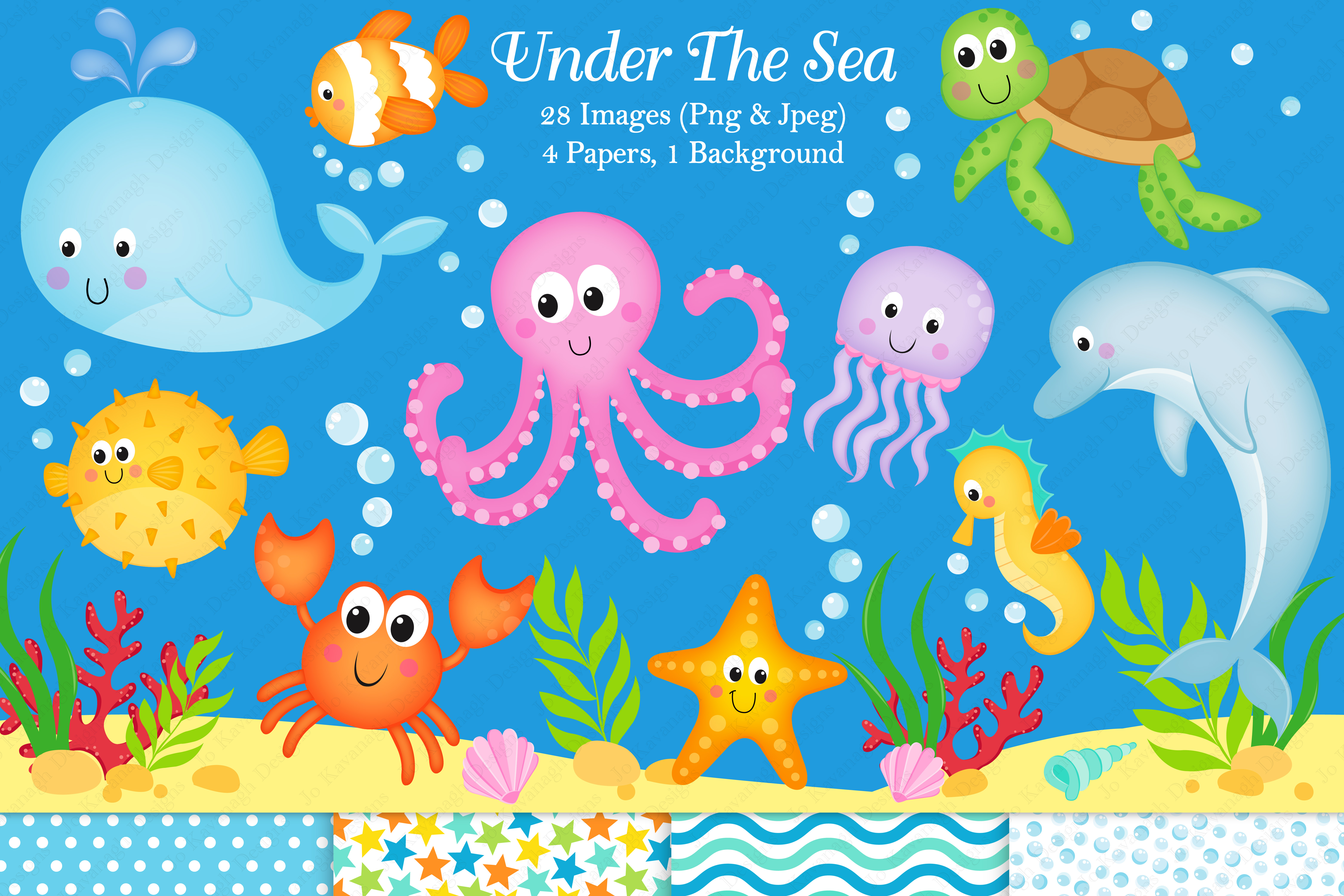 Under The Sea Clipart Under The Sea Graphics Amp Illustration