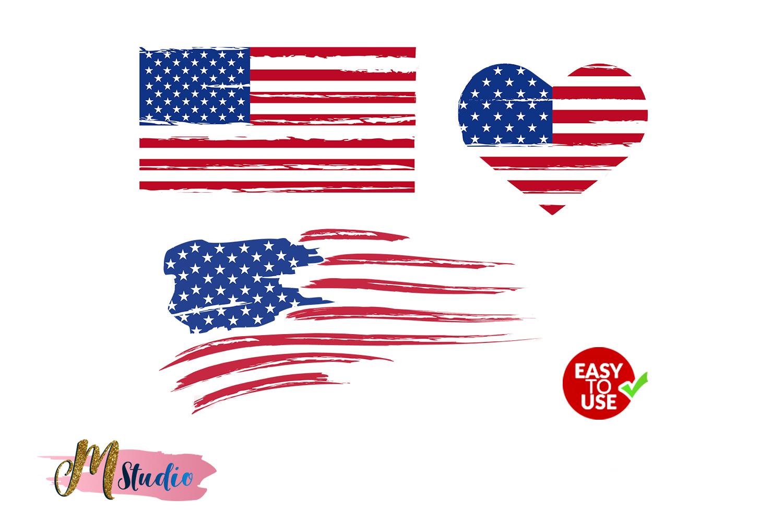 distressed flag american flag