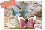 2 styles angel wings hair bow template