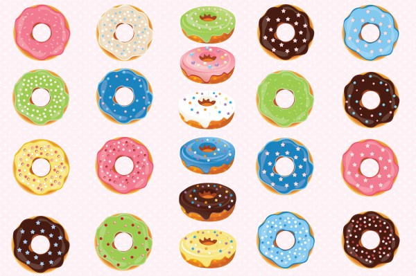 donuts clipart graphics