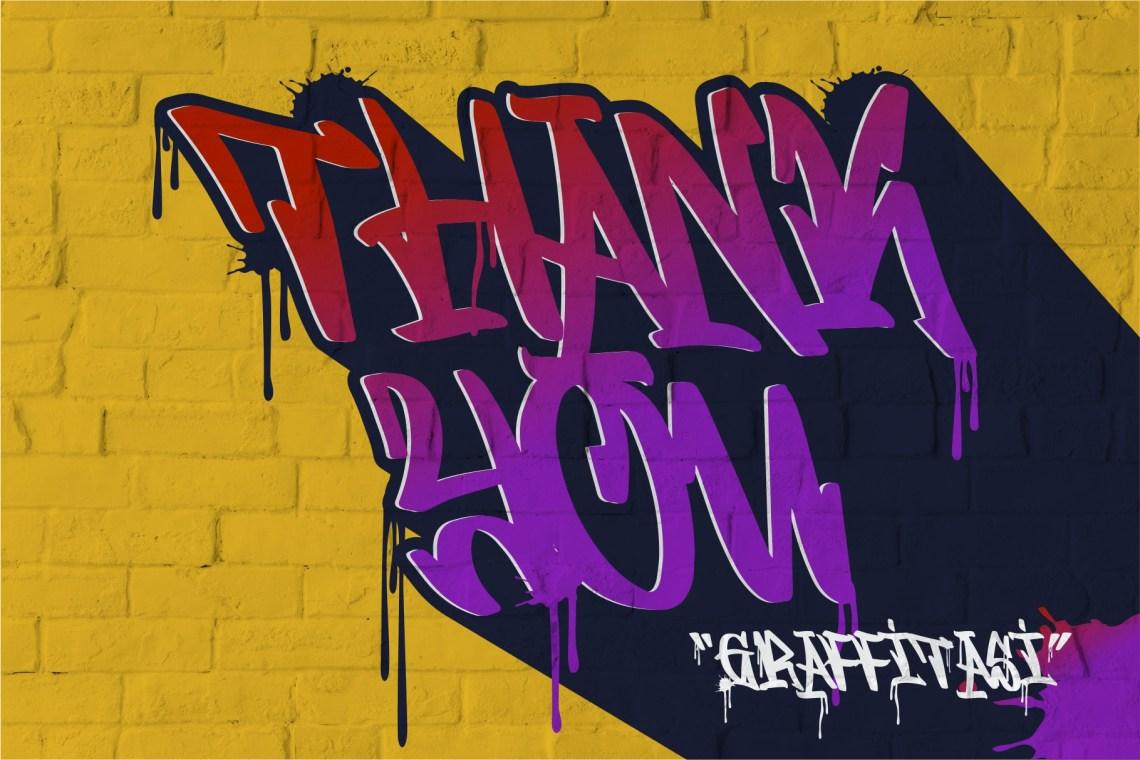 GRAFFITASI - Street Fonts (225061) | Graffiti | Font Bundles