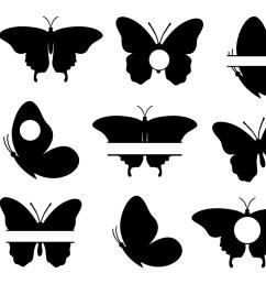butterfly svg butterfly monogram svg butterflies svg butterfly clipart butterfly silhouette  [ 1500 x 1000 Pixel ]
