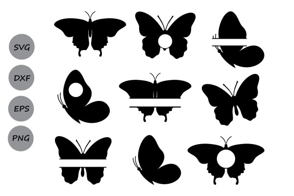 Butterfly Svg Monogram Butterflies