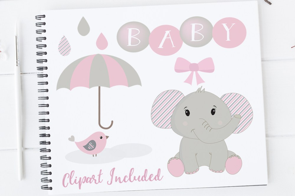 medium resolution of baby girl clipart elephant clipart baby clip art baby shower elephants elephants