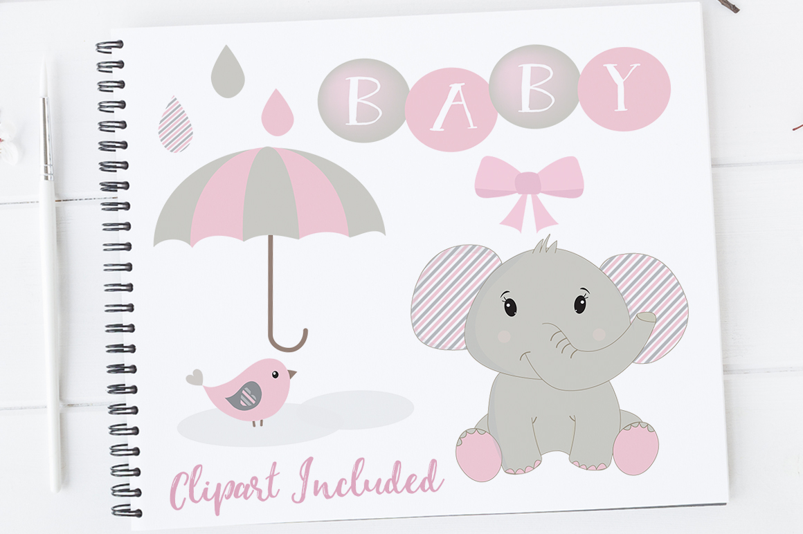 hight resolution of baby girl clipart elephant clipart baby clip art baby shower elephants elephants