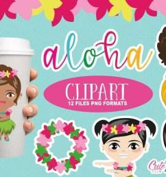 tropical party summer clipart luau clipart aloha cliparts hula clipart hawaii [ 1160 x 772 Pixel ]