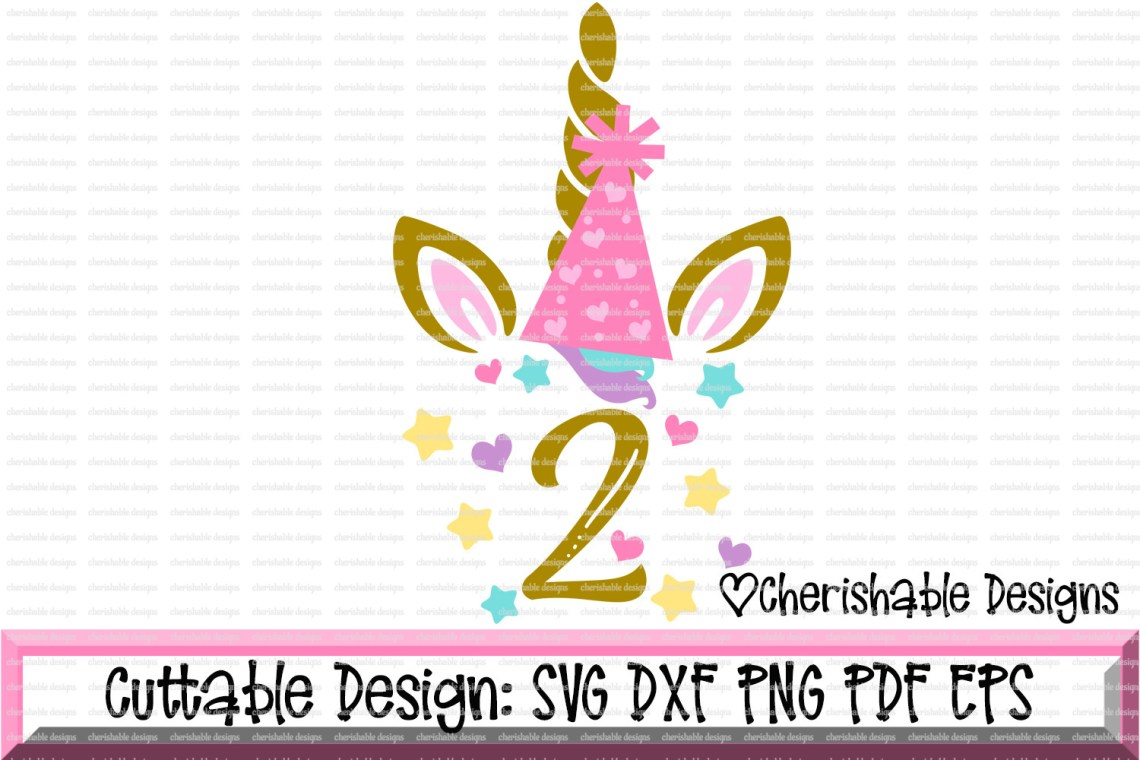 Download Unicorn Birthday Svg, Birthday SVG, Second Birthday Svg ...