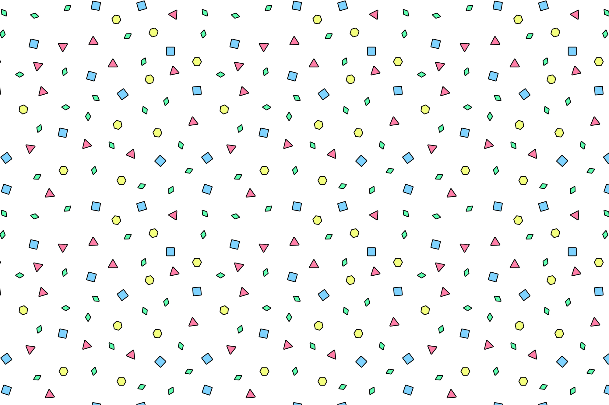 colorful memphis patterns seamless